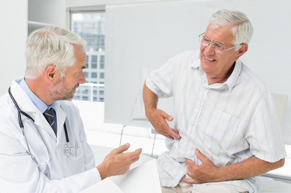 Сбор данных и осмотр врача при язве