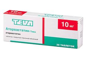 Аторвастатин-Тева