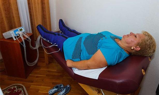 Физиолечение сосудов ног