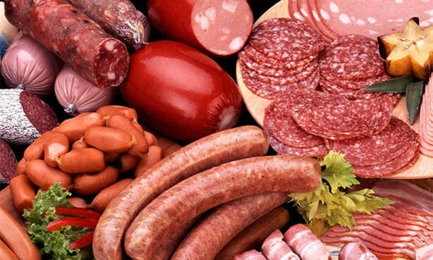 Полуфабрикаты, колбасы, сосиски