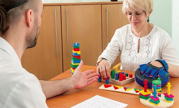 Домашняя работа с реабилитологом