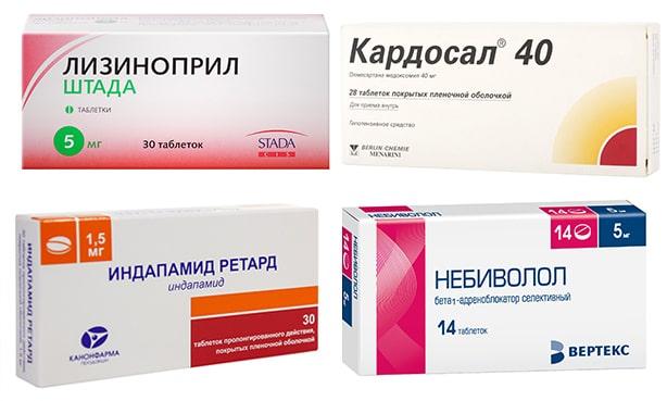 Лекарственные препараты от гипертонии нового поколения