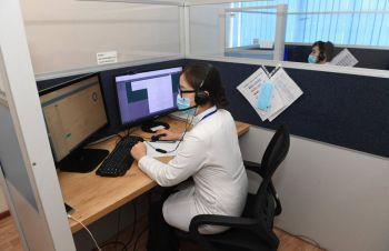 Центр телемедицины Алматы круглосуточно помогает больным с COVID-19